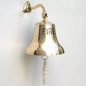 "Estonia Ship Bell ""Fire"" Engraved And Bracket Mounted Elegant Masterpiece Brand IOTC"