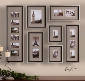 European Photo Artwork - London Paris Rome Photography Brand Uttermost