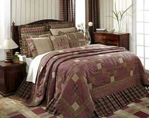 """Everson Bedskirt King 78"""" x 80"""" x 16"""" by VHC Brands"""