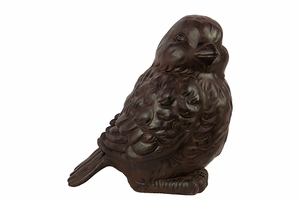 Exclusive Fiberstone Charming Brown Bird by Urban Trends Collection