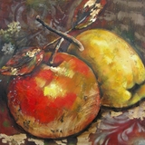 Exclusive Ripened Fruit II Classy Painting by Yosemite Home Decor