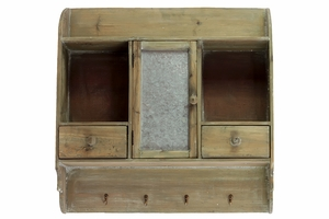 Exclusive Urban Wooden cabinet with trendy Hooks
