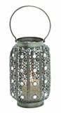 Exclusively Designed Customary Styled Metal Lantern by Woodland Import