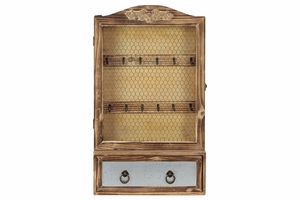 Exquisite and Magnificent Unique Styled Wooden Cabinet by Urban Trends Collection