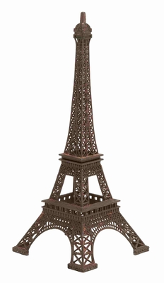 Exquisite and Sophisticated Metal Eiffel Tower Brand Benzara
