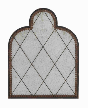 Exquisite and Sophisticated Metal Wall Panel Brand Benzara