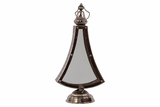 Exquisite Bell Shaped Metal Lantern in Black