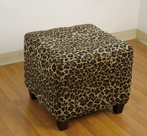 Exquisite Large Microfiber Suede Patterned Bench by 4D Concepts