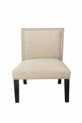 Exquisite Polyester Cushioned Burnett Slipper Chair by 4D Concepts