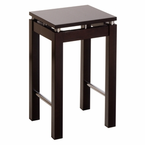 "Winsome Wood Exquisite Styled Linea 23"" Stool with Chrome Accent"