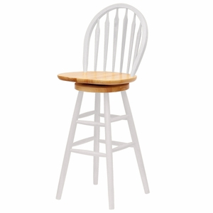 """Winsome Wood Exquisite Unique Styled 30"""" Windsor Swivel Stool"""