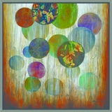 Extensively Painted Marbles Artwork by Yosemite Home Decor
