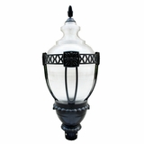 Exterior Lighting Exquisitely Styled 1 Light in Black Frame by Yosemite Home Decor