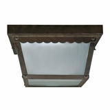 Exterior Lighting Gorgeously Styled 2 Lights Exterior Lighting in Dark Brown by Yosemite Home Decor