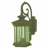 Exterior Lights-Briar Gorgeous 2 Lights Exterior Wall Mount sconce in Weathered Bronze by Yosemite Home Decor
