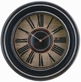 Extraordanary and Dark McKenna Clock by Cooper Classics
