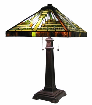 Extremely Appealing Mission Table Lamp by Chloe Lighting