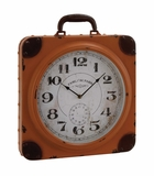 Eye - Catching Metal Table Clock by Woodland Import