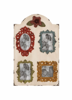 Eye Catching Wood Wall Photo Frame by Woodland Import