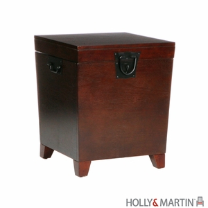 Fabulous & Modern Holly and Martin Dorset Trunk End Table by Southern Enterprises