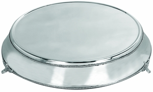 Fabulous Round Wedding Cake Stand Plate, Stainless Steel Cake Stand Brand Woodland