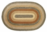 Faded and Artistic Kettle Grove Jute Rug Oval by VHC Brands