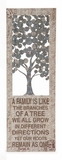 Family Themed Creative Metal Wall D�cor by Woodland Import