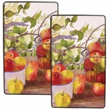 "Fancy Burner Kovers Rectangle ""Apple Harvest"" by Range Kleen"