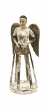 Fancy Emelda Small Hand carved Wood Angel Santos by IMAX