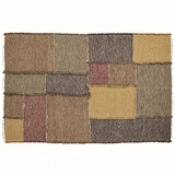 Fancy Kendrick Patchwork Rug Rect by VHC Brands