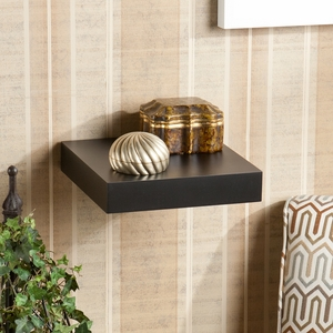 Fancy Styled Chicago Floating Shelf Black by Southern Enterprises