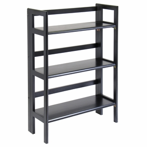 Fancy Three Tier Foldable Modern Stackable Shelf by Winsome Woods