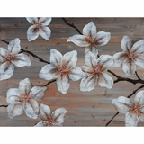 Fantabulous Masterpiece of Wooden Blossom II by Yosemite Home Decor