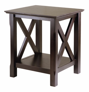 Fantastic Customary Styled Xola End Table by Winsome Woods