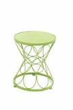 Fantastic Green Polished Metal Green Plant Stand by Woodland Import