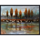 Fantastic Picture of Autumn Reflection by Yosemite Home Decor