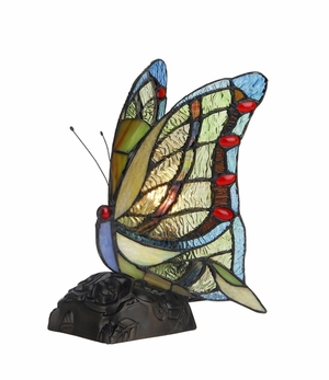 Fantastic Tiffany- Style Multicolored Accent Lamp by Chloe Lighting