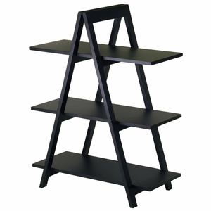 Fantastic Unique Styled A-Frame 3-Tier Shelf by Winsome Woods