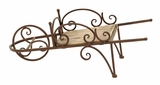 Farmers Wheelbarrow Themed Planter Stand For Your Plants Brand Woodland