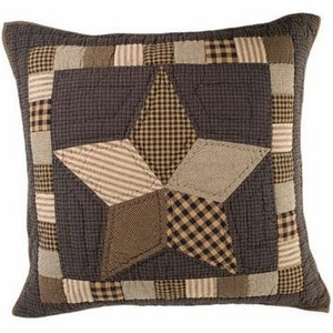 Farmhouse Star Euro Sham Quilted by VHC Brands