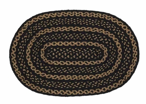 Farmhouse Star Oval Braided Rugs Brand VHC