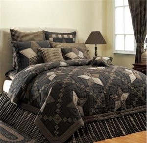 Farmhouse Star Quilt Luxury King Size 120X 105 Oversize Brand VHC