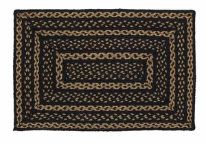 Farmhouse Star Rectangle Braided Rugs Brand VHC