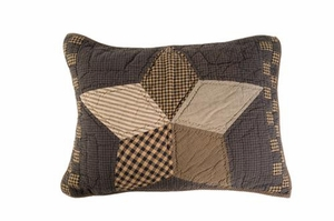 Farmhouse Star Standard Sham by VHC Brands