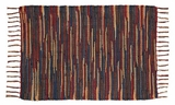 Fascinating Lewiston Chindi/Rag Rug Rect by VHC Brands