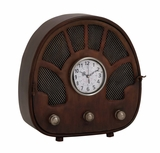 Fascinating Styled Berlin Metal Table Clock by Woodland Import