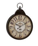 Fascinating Styled Berlin Metal Wall Clock by Woodland Import