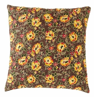 Fascinating Styled Cambrie Lane Euro Sham Quilted by VHC Brands