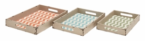 Fascinating Styled Classy Wood Tray by Woodland Import