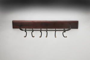 Fascinating Styled Glendo Iron & Wood Wall Rack by Butler Specialty